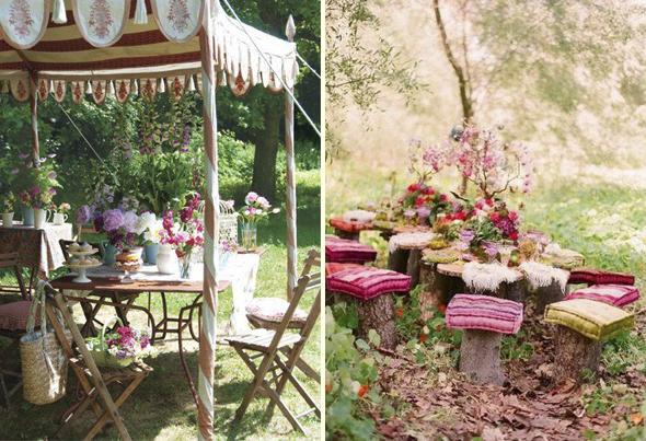 Hogar y jardin ideas para decorar tu jard n vintage for Juegos de jardin vintage